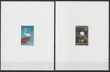 Djibouti 1995 Epreuve de Luxe Proof Fauna Birds Flamingo Ibis Mi. 611 612