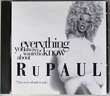 RUPAUL * EVERYTHING YOU ALWAYS WANTED TO KNOW ABOUT... * US 73 TRK RADIO PROMO
