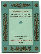 CARNET N° 2013 **  FRANCE CROIX ROUGE 1964