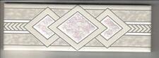 Bordüre GL-1931   5x15 cm mit Glasauflage