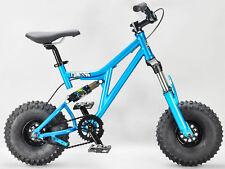 Mini Rig Down Hill Bicicleta Bmx Verde Azulado RKR Select rueda y agarre Color