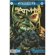 BATMAN RINASCITA 21 - DC COMICS - BATMAN 134 - RW LION ITALIANO - NUOVO