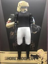 "Hot Toys Star Wars Rogue One Shoretrooper 12"" Nude Padded Body loose 1/6th scale"