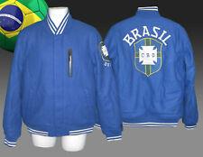Nuevos Nike Brasil Fútbol NSW Destructor Universitaria BOMBER CHAQUETA AZUL M