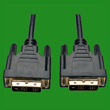 2m DVI-D Male to male Computer PC Monitor Single Link Lead Cable Plug