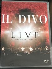 """IL DIVO Live At The Greek Theatre 2006 LN """" SEALED at The Top""""  DVD"""