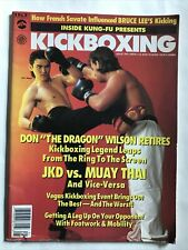 Vintage Inside kUng Fu Kickboxing Magazine Don Wilson Savate Karate Martial Art