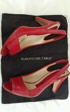 Chaussures escarpins cuir ROBERTO DEL CARLO 39