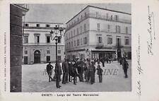 CHIETI: Largo del Teatro Marruccino    1903