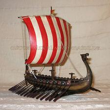 Wikingerschiff dragón Boot Oseberg barco vikingo Gokstad bonito decorado nuevo