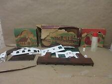 2 Plasticville Kits Church Kit CC8 Passenger Kit RS-7 Both Complete Sets