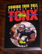1993 Classic NFL TONX Promo Milk Cap Game with Troy Aikman, Dallas Cowboys