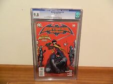 Batman & Robin #10 2010 9.8 CGC
