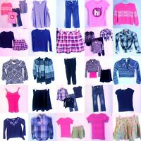 Girls Size 7/8 Jeans Clothes Lot, Sweaters, Shirts, Tops, Outfits, CLOTHING