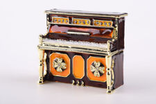 Faberge Piano Trinket box hand made by Keren Kopal & Austrian crystals