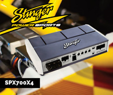 STINGER SPX700X4 4 Channel Marine Amplifier Motorcycle Boat Powersport UTV Amp
