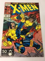 Uncanny X-Men No. 277 Comic Book Marvel June 1991 Wolverine Cyclops Colossus VG