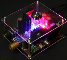 With Tracking 6N11 Hi-Fi Class A Tube Stereo Headphone Amplifier Amp and Power