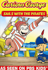 Curious George: Sails with the Pirates and Other Curious Capers (DVD, 2008)