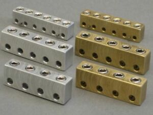 Steinberger String Adapters - 4/5/6-String Available in Brass or Aluminum