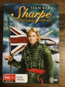 Sharpe - The Complete Collection (DVD, 2008, 10-Disc Set) cover is broken
