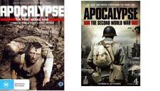 Apocalypse The First World War + Second World War Region 4 (6 Discs)