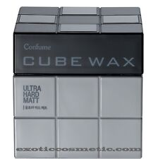 Confume Cube Hair Wax - Strong Mat **shaggy and wolf style**