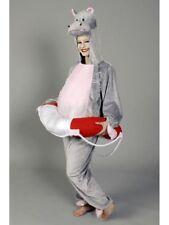 Kostüm für Erwachsene Overall Hippo Karneval Kostüm