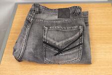 2c187852 Marc Ecko Cut & Sew Men's Gray Denim Jeans Relaxed Straight 36 X 30 Zipper  Fly