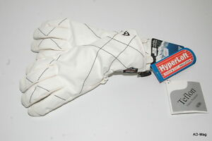 Paire Gants / Gant MONTAGNE / SKI / NEIGE - LHOTSE Hydra - Blanc - T. 6/8 - NEUF