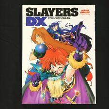 "Slayers Dx ""Dragon Magazine Collection"" Japanese Anime Art Book Oop"