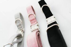 EveryBreed Luxury Velvet Hemp Dog Collar