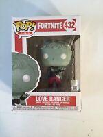 FUNKO Pop Games FORTNITE LOVE RANGER #432 4in Vinyl Figure F2C
