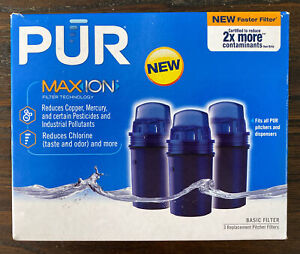 3-pk PUR MAXION Replacement Water Filters for Pitchers & Dispensers PPF900Z