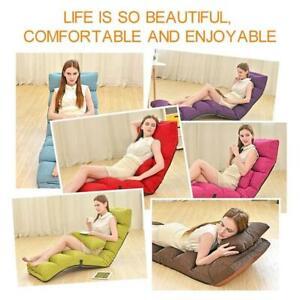 Adjustable & Foldable Lazy Couch Tatami Extra Long Lazy Single Sofa Bean Bag