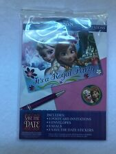 Disney Frozen Party Invitations Pack Of 8