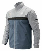 New Balance Men's 2019 NYC Marathon Windcheater Jacket Grey