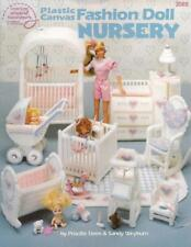 Fashion Doll NURSERY BABY ACCESSORIES Plastic Canvas Patterns for Barbie 3095