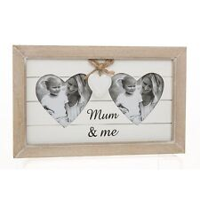 Double Heart Photo Frame Mum & Me G26620