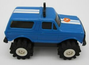 Vtg Schaper Stomper Blue Ford Bronco Truck 4x4 Toy READ