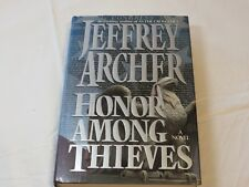 Honor Among Thieves A Novel by Jeffrey Archer 1993 Hardcover Book x