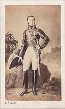 Photo cdv : P.Allain ; Maréchal Oudinot , Duc de Reggio , vers 1863