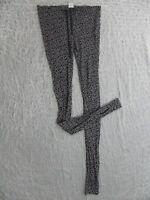 GORMAN blue floral print 100% crinkle cotton harem bohemian pants size 12 NWOT