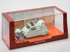 Miniature CITROEN 2CV Dupont TINTIN Les Bijoux de la Castafiore BOX Diecast