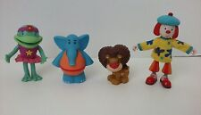 "DISNEY-Pop Rocket-JO JO""S circus-Jo Jo Goliath Lion, Dinky, Croaky frog CAKE Top"