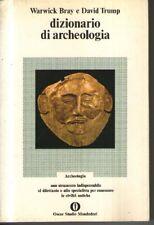 Dizionario Di Archeologia,Warwick Bray - David Trump  Prima Edizione 1973.,Oscar