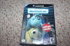 Monsters Inc. Scream Arena (Nintendo Gamecube) w/ Case