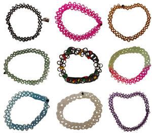 Tattoo stretch bracelets