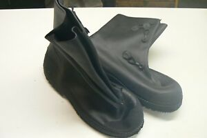 North Safety Rubber Chemical Resistant Boots / Size M 9-10