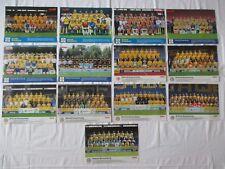 13 MANNSCHAFTSBILDER EINTRACHT BRAUNSCHWEIG 1990-2017 Bundesliga DFB 30x22cm